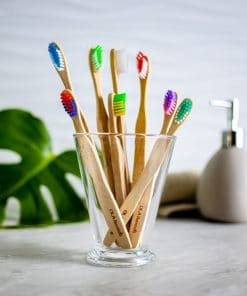 biodegradable toothbrushes - 4 Adult & 4 kids