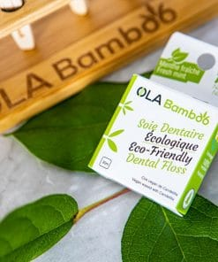 Natural Dental floss with recyclable packaging