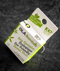 Eco friendly dental floss with recyclable packaging