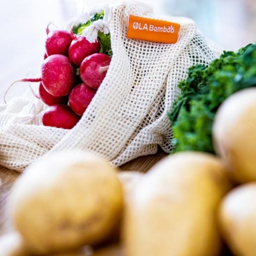 biodegradable produce bag for fruits and veggies