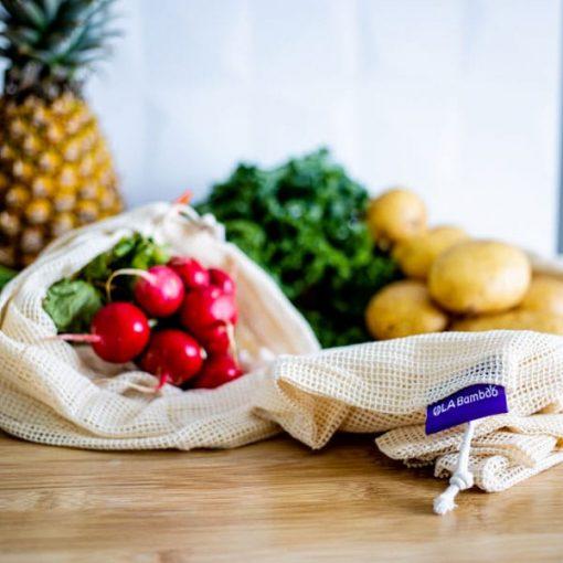 Sacs réutilisables pour fruit