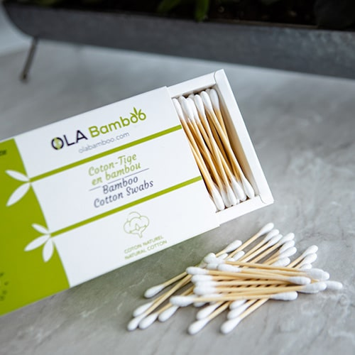 compostable cotton swabs
