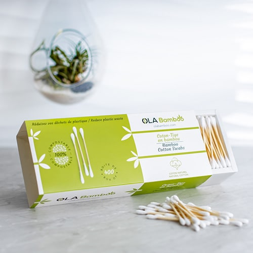 Bamboo cotton swabs