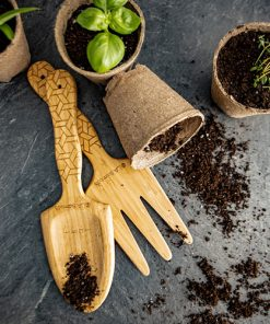 perfect eco friendly gardening tools- shovel and rake