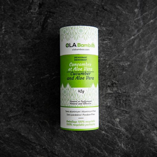 Natutal Deodorant Canada - Cucumber and Aloe vera