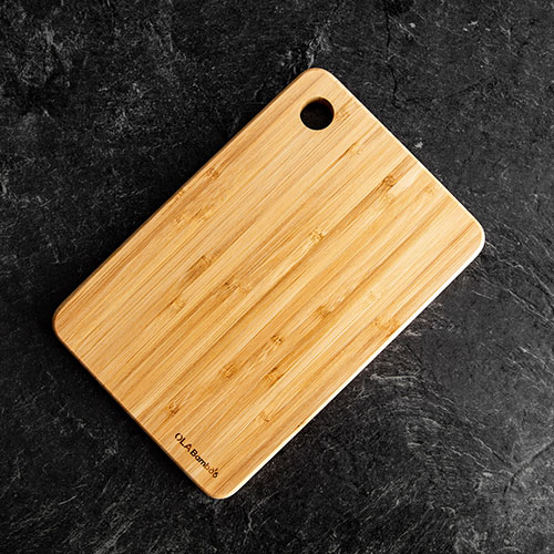 Bamboo cuttinng board by OLA Bamboo