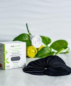 makeup remover pads -black